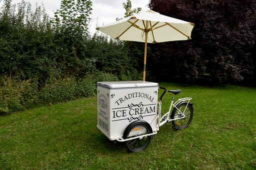 Ice Cream Trike Event Hire