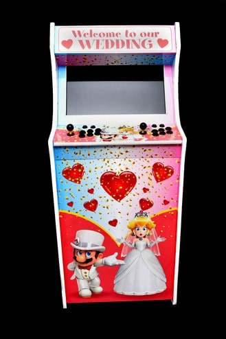 Retro Arcade Machine Event Hire